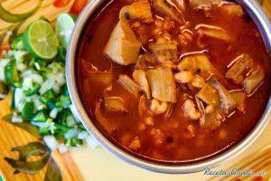 Fish Recipe in pot of red sauce