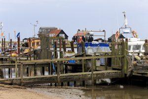 Boats at fish Pier