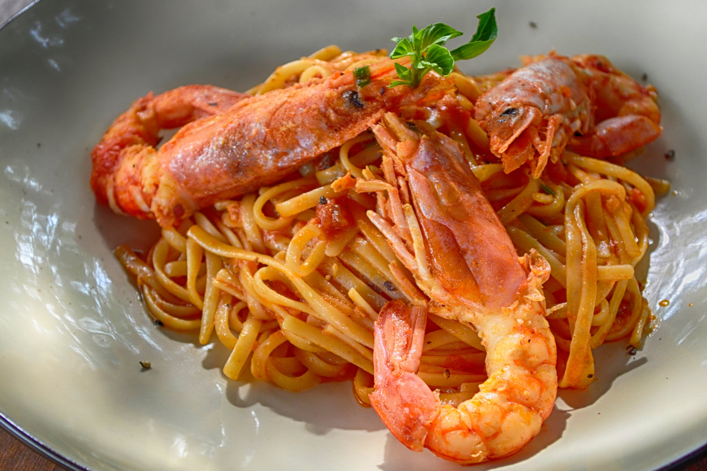 Scampi meal