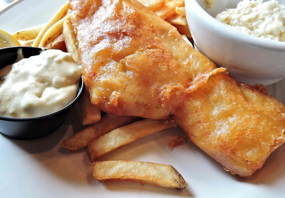 haddock fish n chips